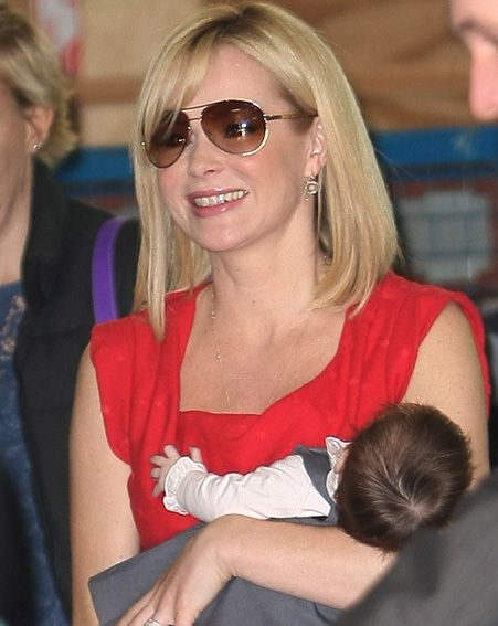 Amanda Holden and her beautiful baby Hollie