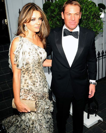 Elizabeth Hurley revealed she didn't know what to wear hours before Sir Elton John's ball