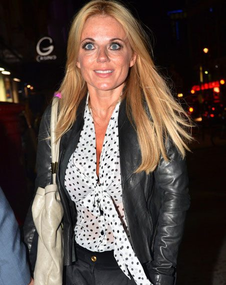 Geri Halliwell is still hitting the club circuit after many years in showbiz