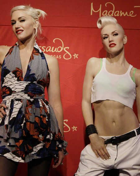 Gwen Stefani has got her own Madame Tussauds waxwork...and it's ridiculously life-like