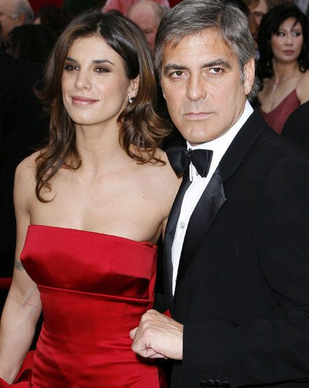 George Clooney and Elisabetta Canalis have split