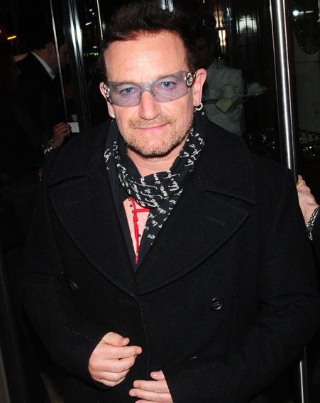 Bono of U2 says he is overpaid and over-rewarded / Wenn.com