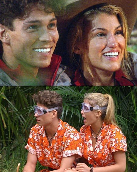Joey Essex comforted Amy after the task