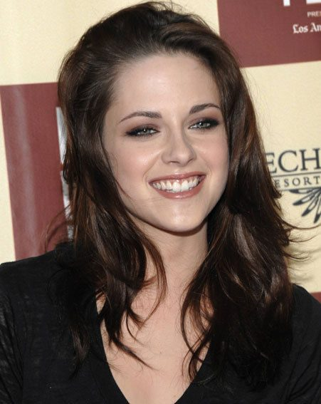 Kristen Stewart couldn't hide her gorgeous smile at a film premiere in LA