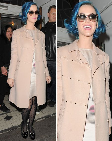 Katy Perry has been enjoying a brief visit to London following her split from Russell Brand