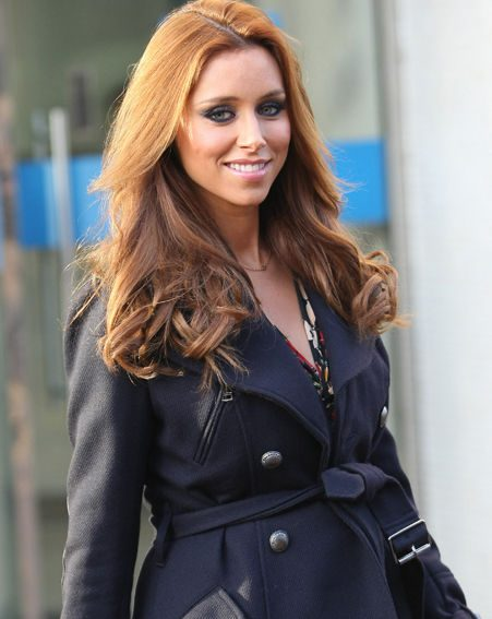 Una Healy was celebrating her first Mother's Day yesterday