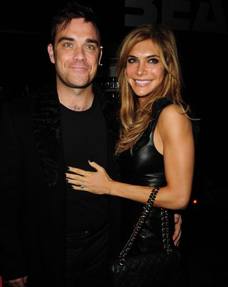 Robbie Williams says he's very excited about becoming a dad