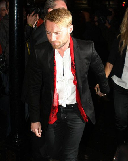 Ronan Keating of Boyzone attends the Stephen Gately farewell concert (Pics: wenn.com)