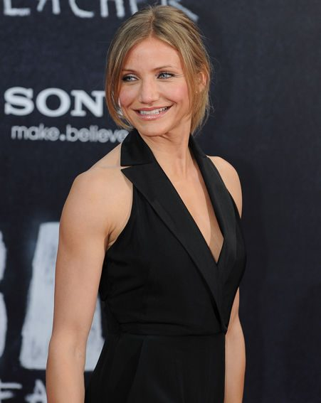 Cameron Diaz at the Berlin premiere of her film Bad Teacher