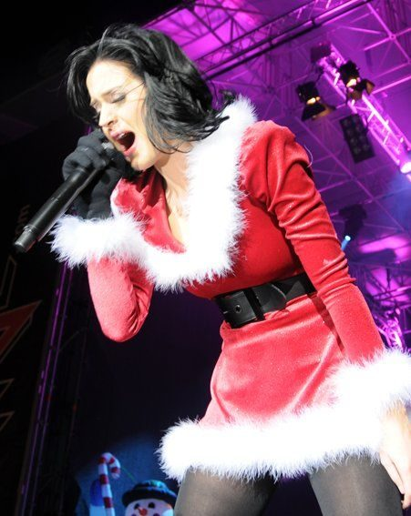 Singer Katy Perry was performing in Austria (Pics: Europics)