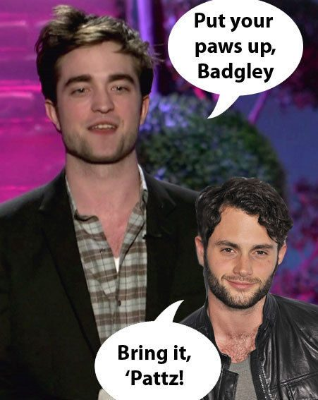 We want to see Robert Pattinson and Penn Badgley wrestle for the Jeff Buckley role
