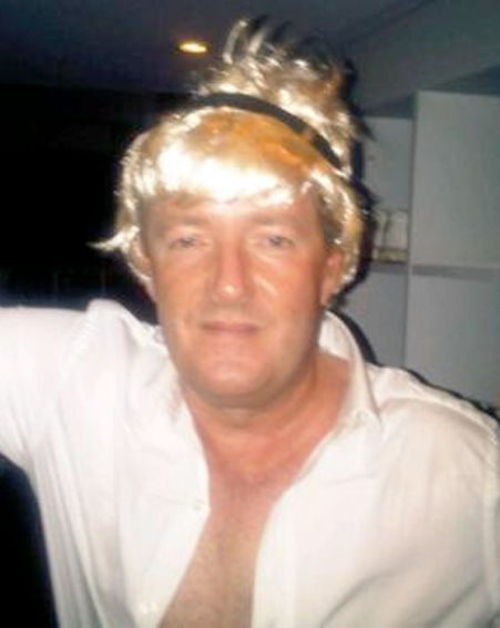 Piers Morgan doing his best tavros Flately impression
