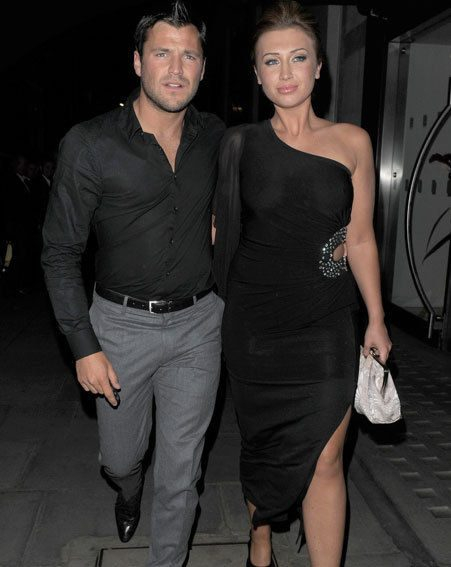 Mark Wright has denied claims he cheated on Lauren Goodger on the TOWIE Marbs trip