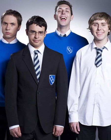 We just loved The Inbetweeners last night