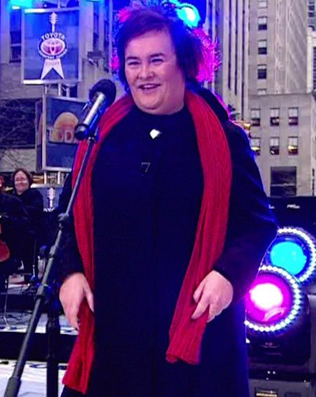Susan  Boyle has been named