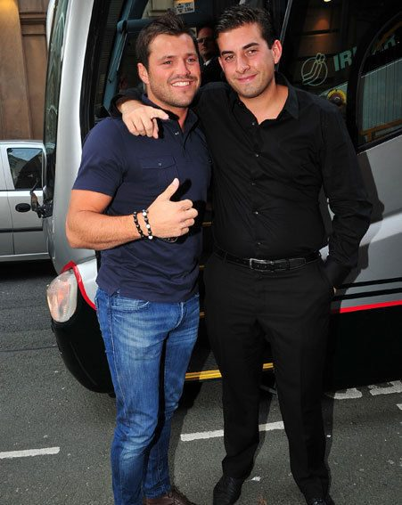 TOWIE's Mark Wright and Arg descended upon Liverpool last night with pals