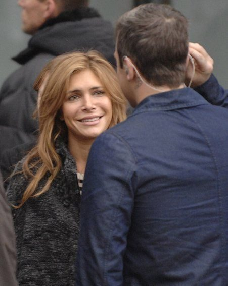 Former Take That star Robbie Williams has been dating Ayda for two years (Pics: wenn.com)