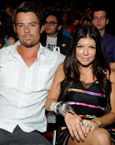 Fergie and husband Josh Duhanel