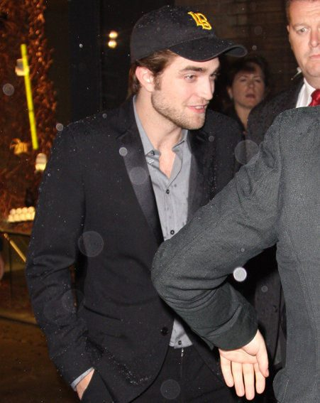 Robert Pattinson is currently finishing his New Moon promotion