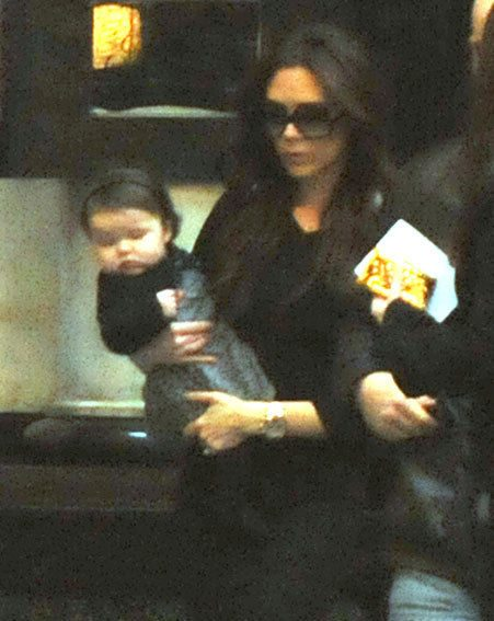 Victoria Beckham has bought Harper a brand new accessory - and it hasn't got a designer tag!