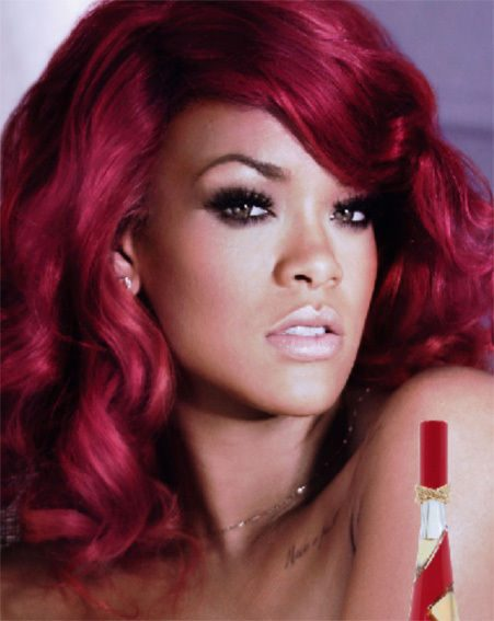 Rihanna looks b-e-a-yootiful in the promo shot for her new scent