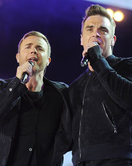 Robbie Williams and Gary Barlow are set to perform on Strictly Come Dancing