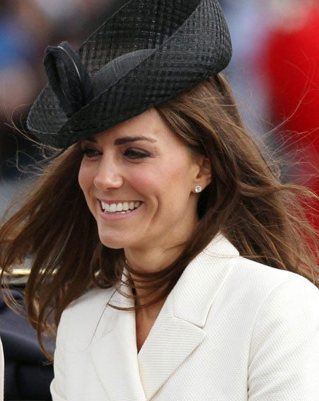 Kate Middleton says she is loving being married to Prince William