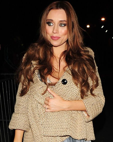 Una Healy is celebrating the birth of her baby girl