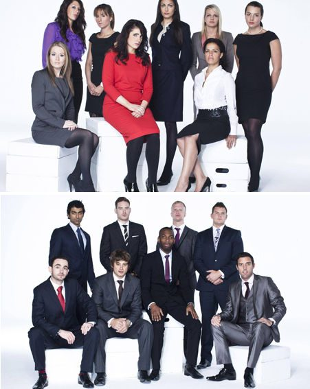 The Apprentice 2012: Meet the new contestants below