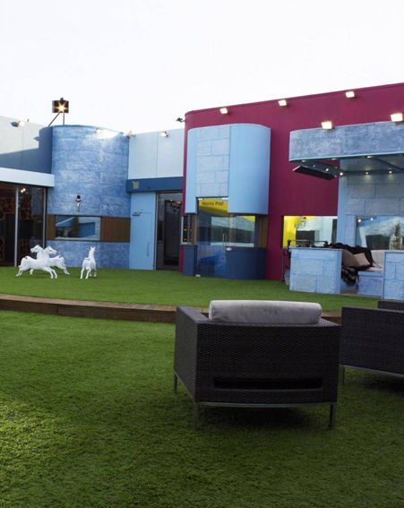 These are the first pictures of the new Celebrity Big Brother 2009 house