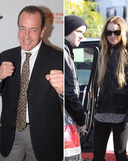 Michael Lohan has called a truce with his daughter, Linsday, and her girlfriend, Samantha Ronson