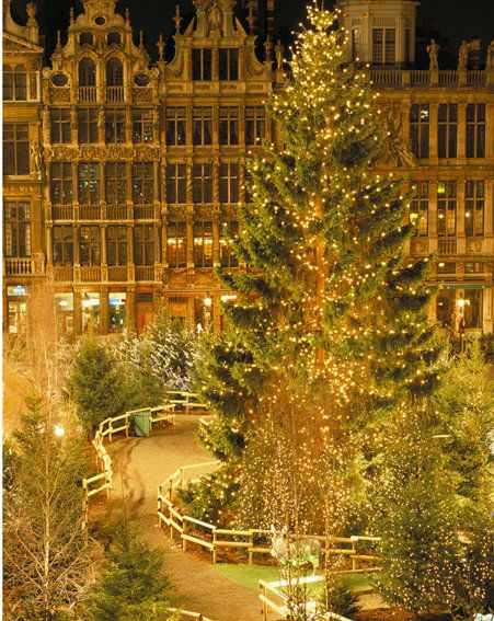 Belgium is fabulous during the festive season