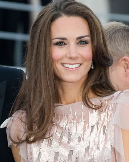 Kate Middleton made her first public appearance as Duchess or Cambridge with Prince Middleton