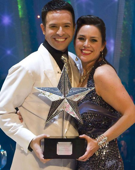 Jill Halfpenny and Darren Bennet took the Strictly Christmas crown