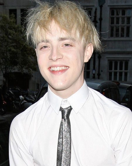 One half of Jedward stepped out last night without the lads' trademark quiff