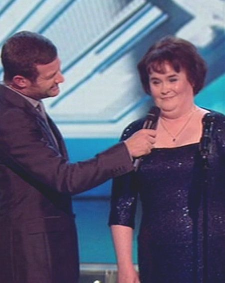 Britain's Got Talent singer Susan Boyle also performed on The X Factor