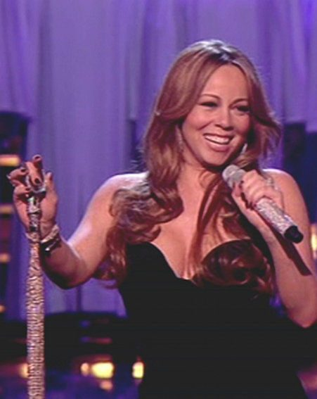 Mariah Carey performed on The X Factor