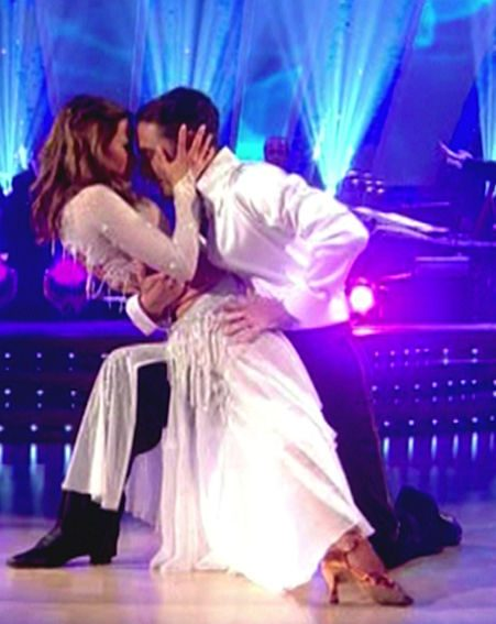 The pair beat favourite to win Rachel Stevens and her partner Vincent