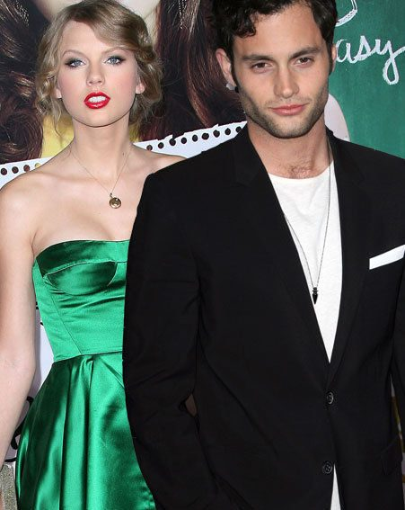 Taylor Swift and Penn Badgley stole the show at the easy A premiere last night