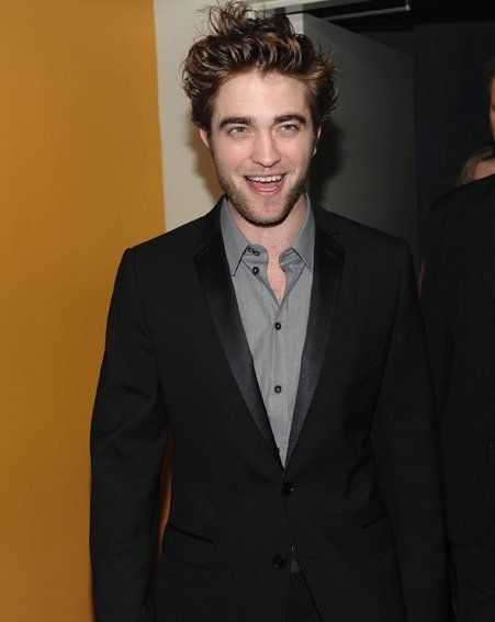 Robert Pattinson was in good spirits at the NYC event