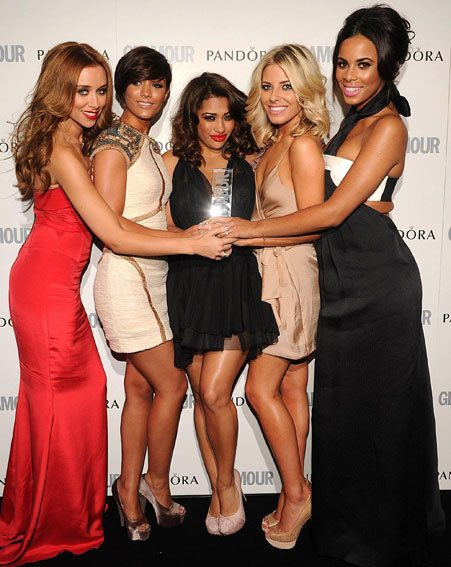 The Saturdays all looked incredible at the Glamour Women of the Year Awards