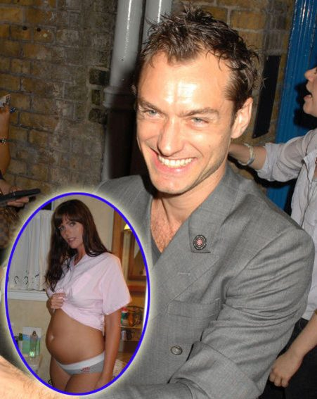 Jude Law Thought Samantha Burke Was On The Pill?: Photo ... |Samantha Burke Jude Law