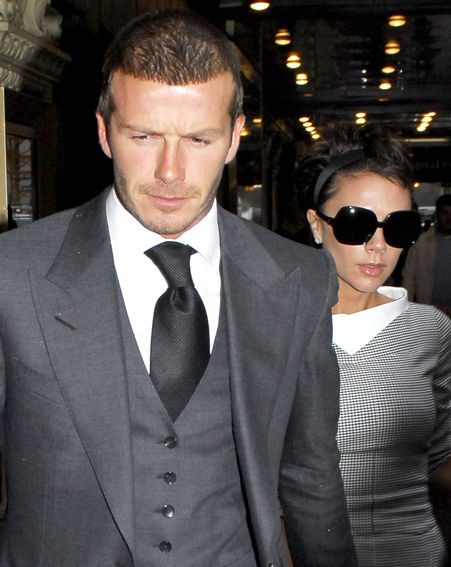 The threesome accused of stealing from the Beckham's have been cleared