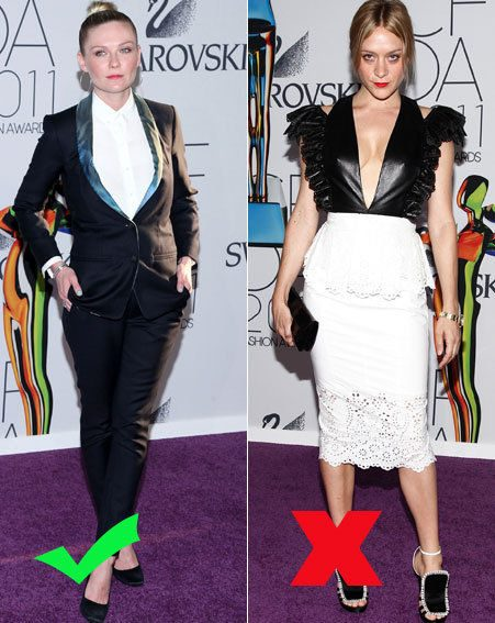 Kirsten Dunst rocks the androgynous trend, Chloe Sevigny goes monochrome
