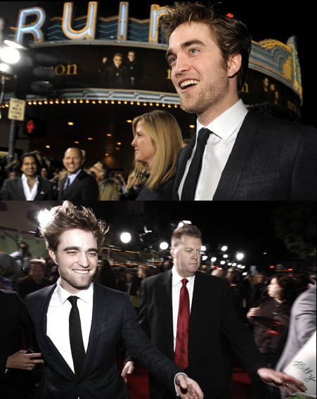 The star caused a storm at the New Moon premiere