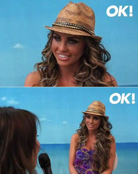 Katie Price speaks to OK.co.uk about her swimwear range, tattoo and exes