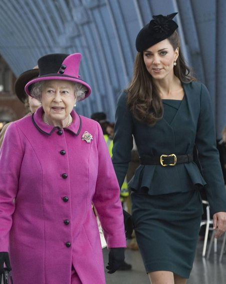Kate Middleton and The Queen stepped out for the first leg of the Diamond Jubilee tour