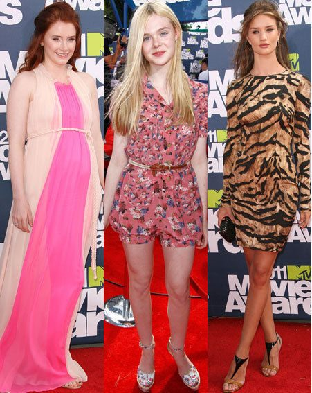 MTV Movie Awards 2011: Bryce Dallas Howard, Elle Fanning, Rosie Huntington-Whiteley