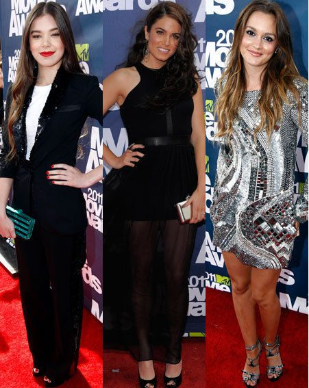 MTV Movie Awards 2011: Hailee Steinfeld, Nikki Reed, Leighton Meester