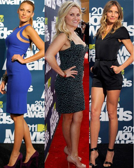 MTV Movie Awards 2011: Blake Lively, Reese Witherspoon, Cameron Diaz
